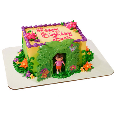 new!Dora the expolorer cake decorating set